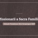 Sejarah Berdirinya MSF